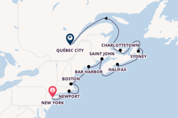 Sail with Princess Cruises from New York