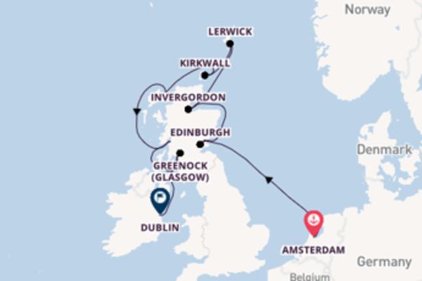Cruise met Azamara Club Cruises naar het waanzinnige Dublin