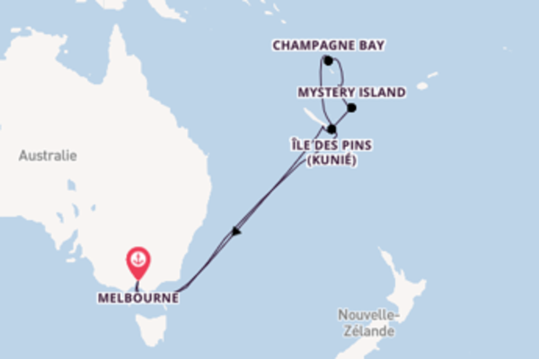 Somptueuse balade de 14 jours au départ de Melbourne