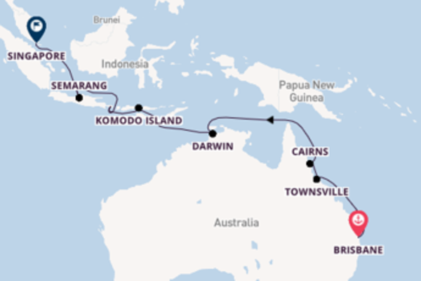17 day expedition from Brisbane