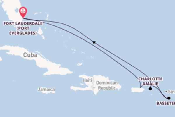 Cruising from Fort Lauderdale (Port Everglades) via San Juan