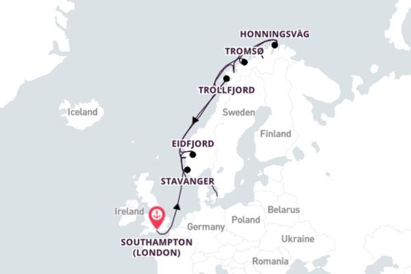 Spectacular Eidfjord with Azamara Quest