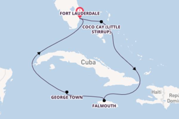 Encantador cruzeiro com a Royal Caribbean