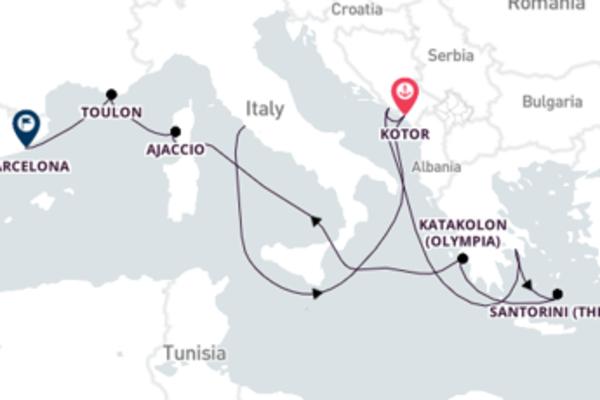 Picturesque Ajaccio Adventure with Princess Cruises