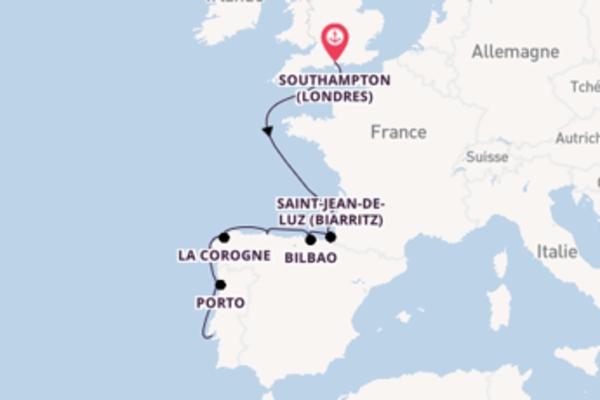 Superbe balade de 11 jours avec Azamara Club Cruises