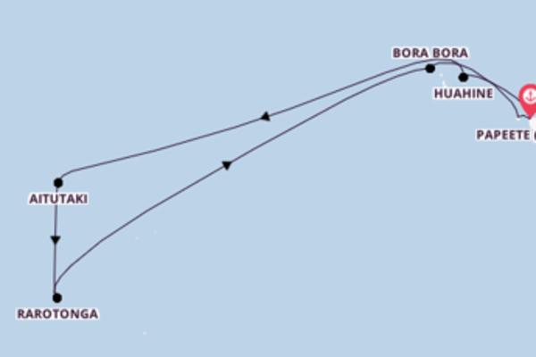 12 Tage Pazifik Reise