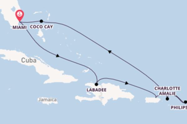 Scopri San Juan arrivando a Miami