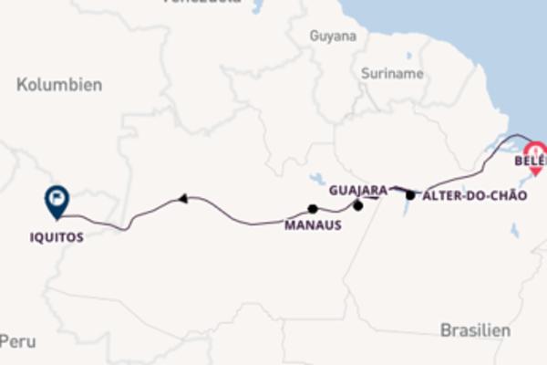 18 Tage Amazonas Reise