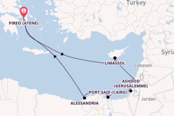 A bordo di Azamara Journey da Pireo (Atene)