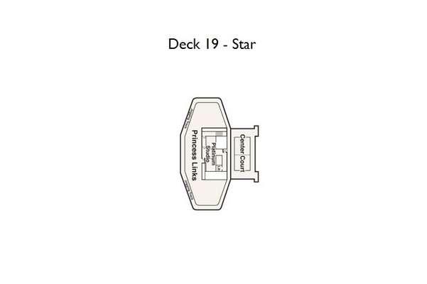 Crown Princess Deck 19 Star