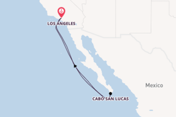 Sailing from Los Angeles via Cabo San Lucas