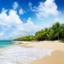 Prachtige cruise langs tropische plaatsen