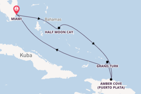 7 Tage Karibik Kreuzfahrt