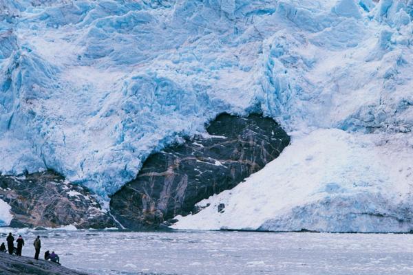 Glaciar Águila, Chile
