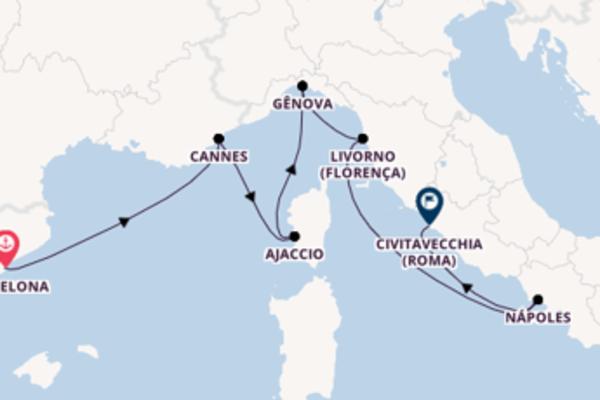 Excepcional cruzeiro de 8 dias com a Disney Cruise Line
