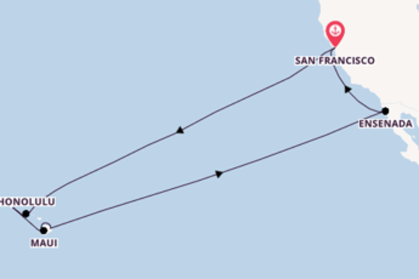 16 day voyage from San Francisco