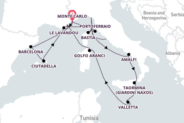 Delightful Bastia Adventure with Seabourn Encore