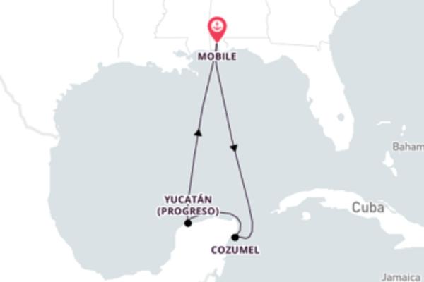 5 noites pelo Caribe Ocidental