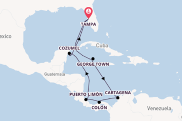 Voyage from Tampa with the Celebrity Constellation