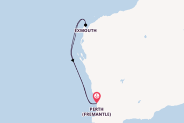 5 day cruise from Perth (Fremantle)