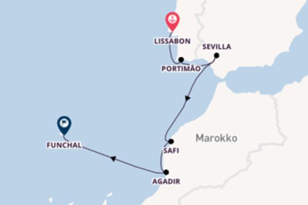 9 Tage Westeuropa Reise