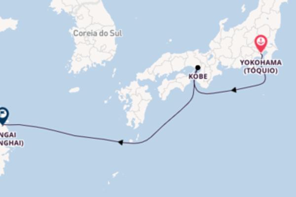 Inesquecível passeio de 5 dias a bordo do MSC Bellissima