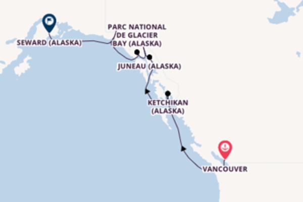 Sublime croisière avec Norwegian Cruise Line  pendant 8 jours