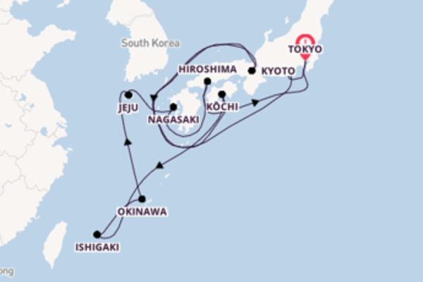 A bordo di Celebrity Solstice fino a Tokyo