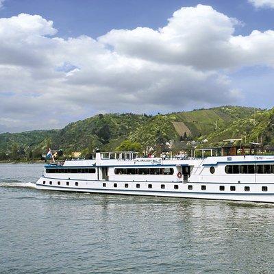 Met een cruise over de Rijn naar Heidelberg