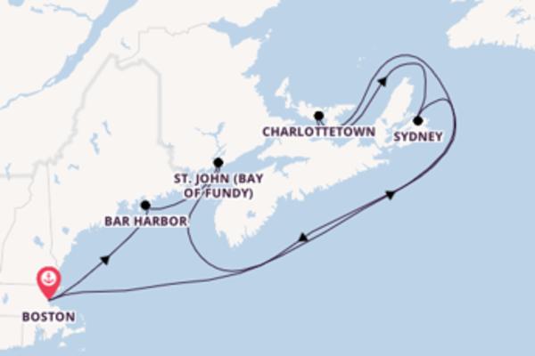 Eindrucksvolle Reise nach Boston