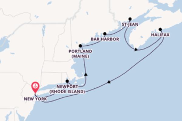 Sublime balade avec Norwegian Cruise Line