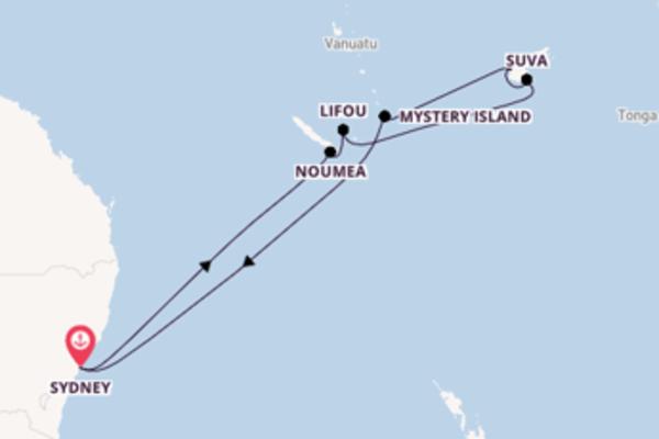 Ga mee op de Radiance of the Seas naar Sydney