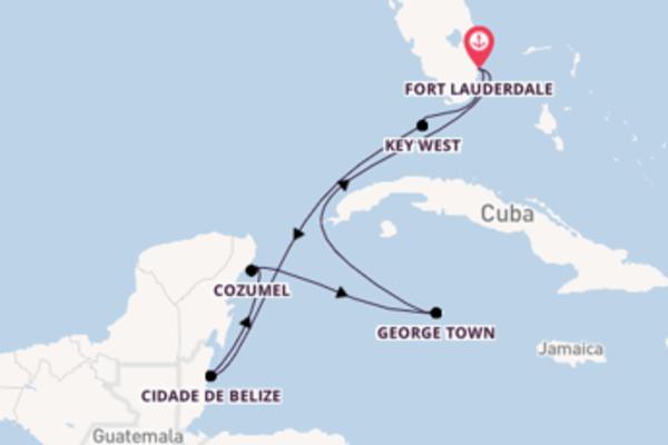 A bordo do Celebrity Apex em uma viagem de 8 dias