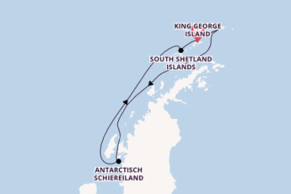 7-daagse cruise vanaf King George Island