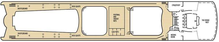 Oriana Sun Deck