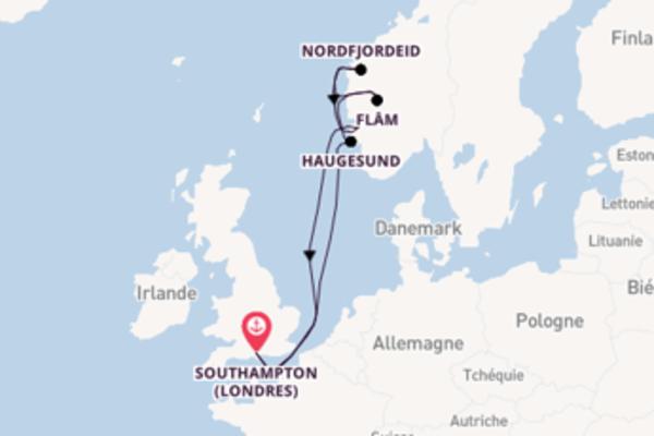 Croisière de 8 jours depuis Southampton (Londres) avec MSC Croisières