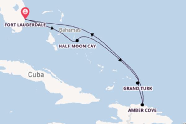 Viaggio da Fort Lauderdale verso Half Moon Cay