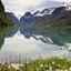 Норвежский горный узор