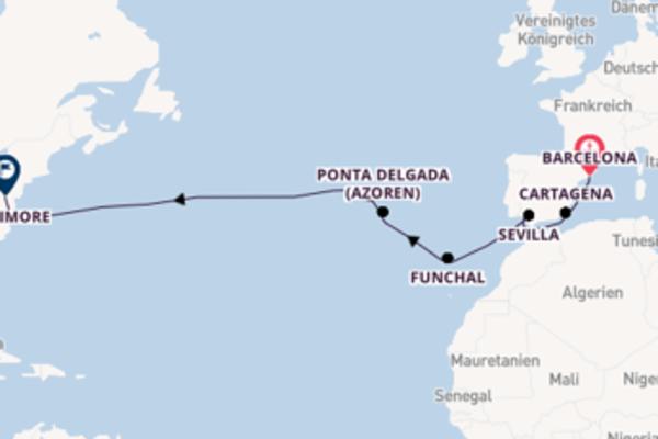 Erleben Sie Funchal auf der Carnival Legend