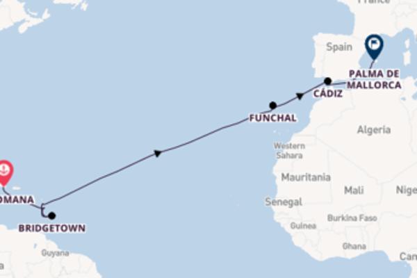 17-daagse reis naar Palma de Mallorca