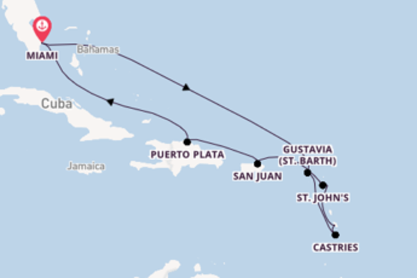 Cruise with Oceania Cruises from Miami