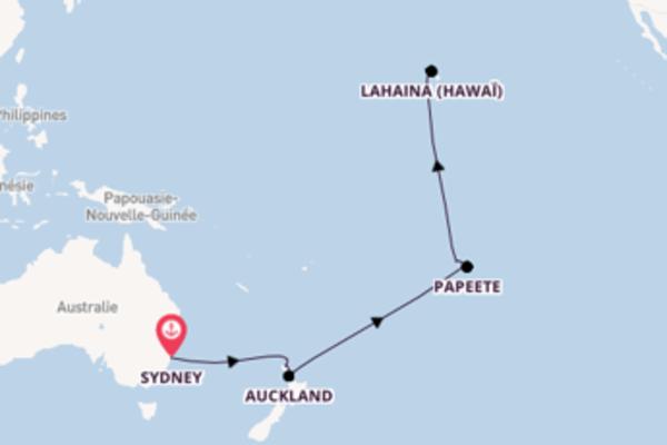 Somptueuse balade de 18 jours avec Celebrity Cruises
