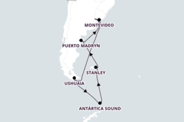 Cruzeiro de 18 dias com o Azamara Quest