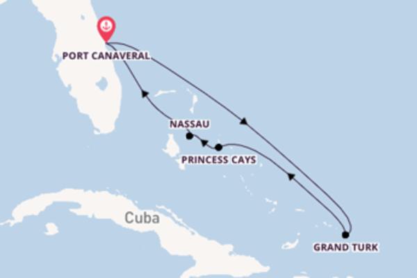Crociera da Port Canaveral verso Princess Cays