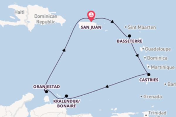 Lasciati conquistare da Basseterre e San Juan
