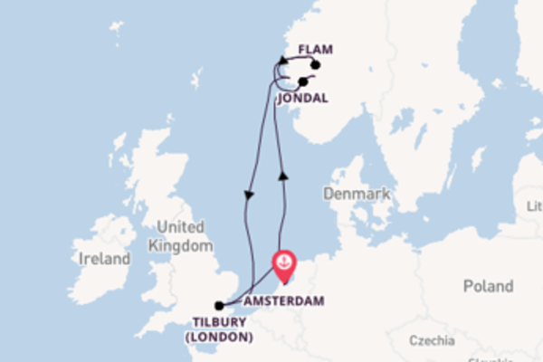 Voyage with Cruise and Maritime Voyages from Amsterdam