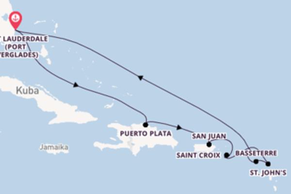 Einmalige Reise ab Fort Lauderdale (Port Everglades)