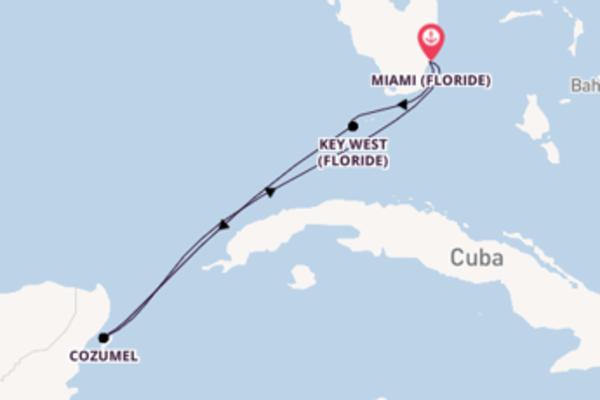 Sublime balade de 5 jours avec Carnival Cruise Lines