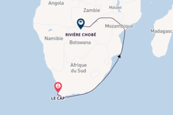 Sur les traces des merveilles africaines