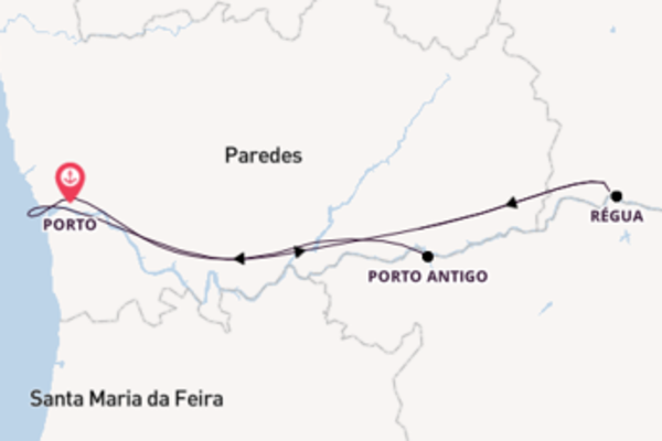 Memorable expedition from Porto with CroisiEurope